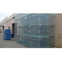 Buy cheap Forklift Operation Collapsible Wire Containers Stacked Height Under 4 Meter from wholesalers