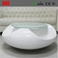 Buy cheap Brief Style Fiberglass Coffee Table Living Room Tea Table Fiberglass End Table from wholesalers
