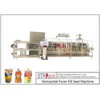 Cheap Customize Horizontal Form Fill Seal Machine , Top Spout Pouch Packing Machine for sale