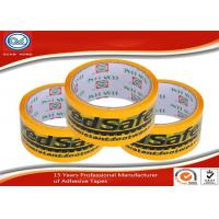 Cheap Custom English Logo Printed Colored Adhesive Tape For Sealing and Packing for sale
