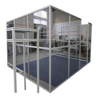 Cheap Cnc Machine Protector Industrial Production Line Fence Cap Fixed Gear Aluminum Glass Door And Window Frame for sale