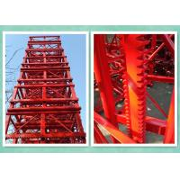 Cheap Customized 650mmx650mmx1508mm Painted Mast Section For Construction Hosit wholesale