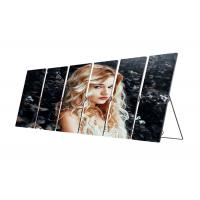 Cheap Ultra Slim Poster LED Display Digital Ads Indoor Mirror Screen Aluminum Panel for sale