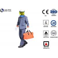 Cheap 8 Cal PPE Safety Wear Uniforms ASTM F2621 Anti Fire Category 1 Oil Resistant for sale