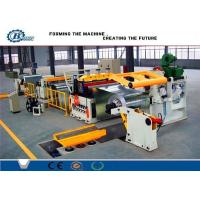 China Custom Cold Rolled Steel Coil Galvanized Metal Slitting Line With 10-16m/min Speed on sale