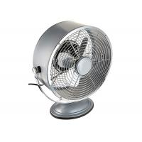 Cheap Portable Vintage Electric Table Fan Personal 2 Speed Setting For Office / Kitchen for sale