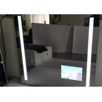 China Rectangle Bathroom Mirror LED TV Wall Mounted 1920 X 1080 Resolution on sale