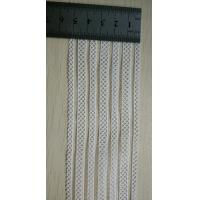 Cheap Spandex / Nylon  White Woven Elastic Webbing For Decoration for sale