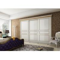 Cheap high quality modern design customized wood wardrobe for sale