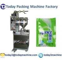 Cheap Small liquid packing machine for shampoo, honey, ketchup, lotion, juice OMRON PLC, OMRON touch screen control for sale