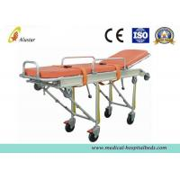 Cheap Full Automatic Loading Stretcher Folded Emergency Patient Ambulance Stretcher Trolley (ALS-S008) for sale
