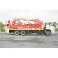 Buy cheap HSA Specialized Under Bridge Inspection Access truck with bucket / basket from wholesalers