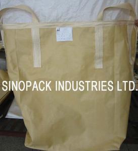 Cheap Powder goods trasportation Circular / Tubular building sand bulk bag for sale