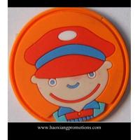 Cheap factory direct supply blaze pvc badge/ rubber patch/ silicon badge for sale
