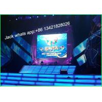 Buy cheap HD P6 Full Color Indoor Stage LED Screen Video Walls 192 * 192mm SMD3528 from wholesalers