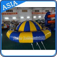 Cheap Giant Water Floating Inflatable Saturn Rocker / Inflatable Water Disco Boat wholesale