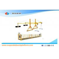 Cheap ZLP800 2.5 m * 3 Sections Suspended Access Equipment With Iron Counter Weight wholesale