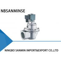 Cheap Double Diaphragm Pulse Valve Pulse Jet Solenoid Valve 24VDC / 110VAC SBFEC Type for sale