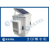 Cheap Solar Outdoor Electrical Cabinets And Enclosure Floor Standing Weatherproof IP65 for sale