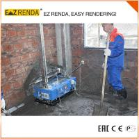 Cheap 0.75KW 220V Spray Render Machine In Build Color Internal Wall Use for sale