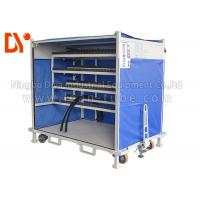 Cheap Anti Corrosion Mobile Tool Trolley , Lean Tube Connected Tool Trolley Cart for sale