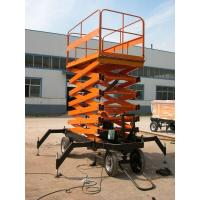 Cheap High rise manual hydraulic lift platform Safety with anti - slip Table , 3.0kw for sale