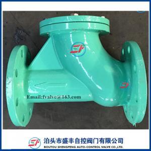 Cheap Micro resistance slow close ductile iron check valve for sale