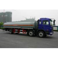 Oil Tanker Truck 20cbm Fuel / Gasoline / 6x2 150 - 250hp horsepower