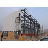 Cheap Customized Design Steel Structure Warehouse Environmentally Friendly With Sliding Door for sale