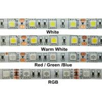 Cheap 24W 12v RGB 5050 SMD LED Strip Lights IP68 Waterproof Outdoor LED Lighting wholesale
