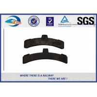 Buy cheap Cast Iron Railway Brake Blocks High friction Composite Brake Shoe from wholesalers