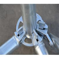 China High Efficiency Ringlock Scaffolding System Fast Installation For Construction on sale