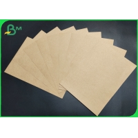 China High Tensile Uncoated Degradable unbleached Kraft Paper Sheet For Gift Box Making on sale