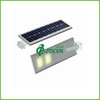 China 3M Pole 5W Solar Panel Street Lights Solar Garden Lamps with Toughened Glass Lampshade on sale