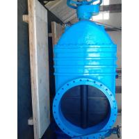 Quality Blue Large Bore Resilient Seated Gate Valves Over 600mm BS Standard wholesale
