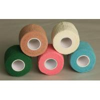 China Easy Tear Colored Self - adherent Cotton Elastic Bandage Wrap on sale