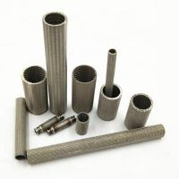 Cheap High Strength Sintered Wire Mesh Filter Cartridge For Industrial Pressure Filter for sale