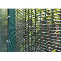 Cheap Anti Climb and Anti Cut Fence Security Airport Prison Barbed Wire 358 Fencing for sale