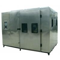 China 1000L Walk In Environmental Chamber / Temperature Humidity  Test Chamber on sale