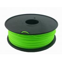 Cheap Customization 3.0mm Green 3D Printing Filament For 3D Printer Toughness for sale