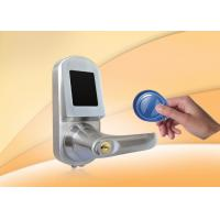 Buy cheap Zinc Alloy RFID Card Fingerprint Door Lock With Mobile Phone from wholesalers