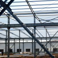 Cheap Fabricated Light Type Q235 Q345 Pre Built Metal Buildings Prefabricated Steel Structure for sale