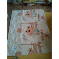 Cheap Superfine Fiber Soft Polyester Baby Blanket Cartoon , Size Of Baby Blanket for sale