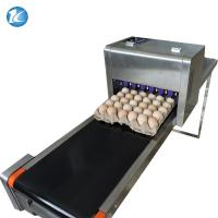 Cheap Touch Screen Egg Spraying Machine , Egg Printer Machine 6 Nozzles for sale