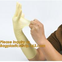 China Disposable medical surgical latex examination gloves with cheap price,manufacturer non sterile medical examination latex on sale