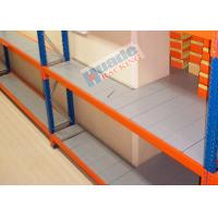 Cheap ISO Industrial Long Span Shelving Galvanized Steel Rack Low Consumption for sale