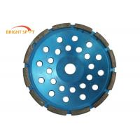 China 4 Inch Diamond Grinding Wheel 5.5x8x32mm , Long Lifespan Diamond Turbo Cup Wheel on sale
