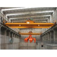 Quality 5 ton double girder grab overhead crane,Best quality Best price grab crane. wholesale