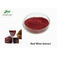 Cheap Natural Antioxidant Red Wine Anthocyanin Extract Powder 30% Polyphenols Healthcare for sale