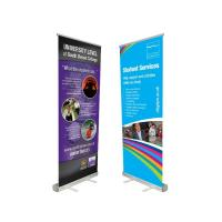 Cheap Innovative Advertising Stand Up Banners Convenient To Transport Attractive Easy Carry for sale
